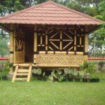 gazebo bambu artistik